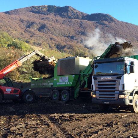 Trasporto e compostaggio ticino